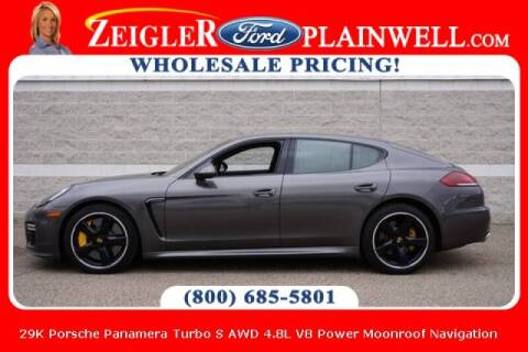2016 Porsche Panamera for sale at Zeigler Ford of Plainwell- michael davis in Plainwell MI