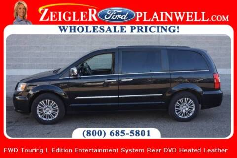 2015 Chrysler Town and Country for sale at Zeigler Ford of Plainwell- michael davis in Plainwell MI