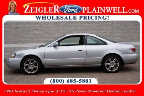 2003 Acura CL for sale at Zeigler Ford of Plainwell- michael davis in Plainwell MI