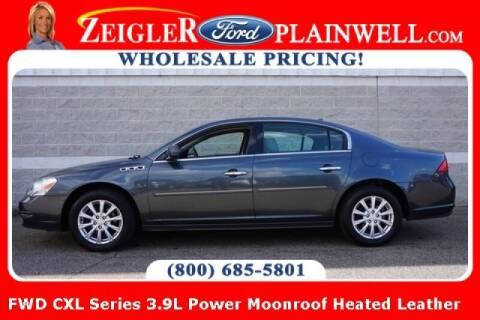 2011 Buick Lucerne for sale at Zeigler Ford of Plainwell- michael davis in Plainwell MI