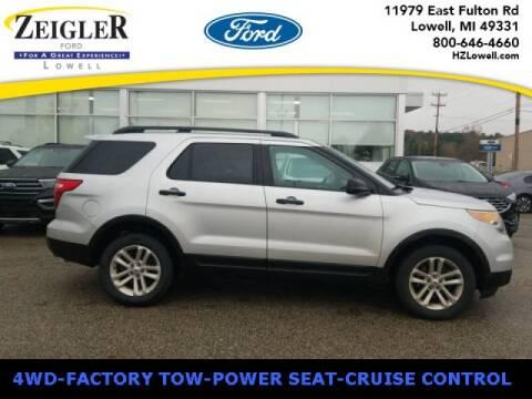 2015 Ford Explorer for sale at Zeigler Ford of Plainwell- michael davis in Plainwell MI