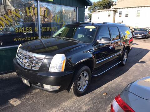 2007 Cadillac Escalade ESV for sale in New London, CT