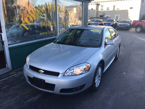 2013 Chevrolet Impala for sale in New London, CT