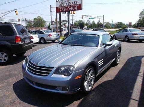 2004 Chrysler Crossfire for sale at Union Avenue Auto Sales in Hazlet NJ