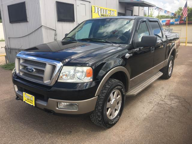 2005 Ford F-150 4dr SuperCrew King Ranch 4WD Styleside 5.5 ft. SB - Victoria TX