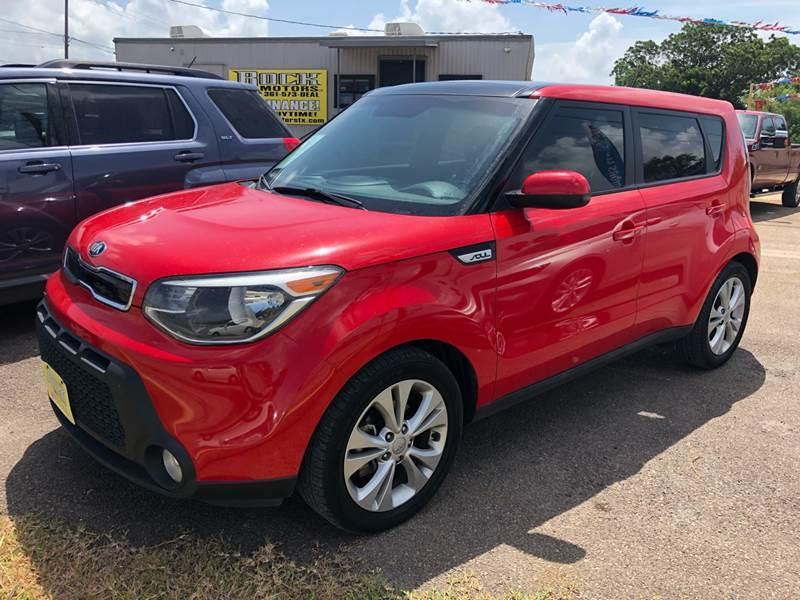 2015 Kia Soul for sale at Rock Motors LLC in Victoria TX