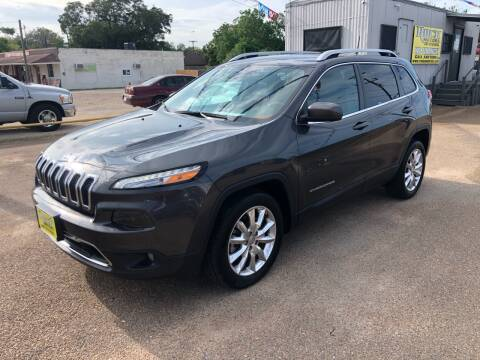2016 Jeep Cherokee for sale at Rock Motors LLC in Victoria TX