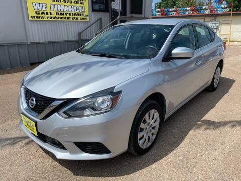 2018 Nissan Sentra for sale at Rock Motors LLC in Victoria TX