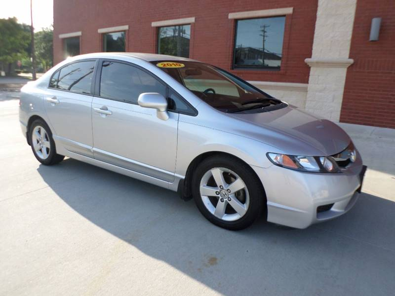 2010 Honda Civic LX S 4dr Sedan 5A   Mckinney TX