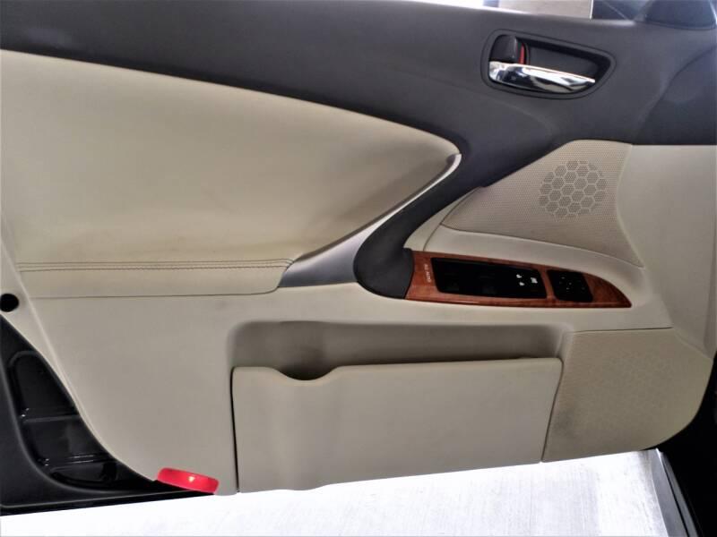 2009 Lexus IS 250 4dr Sedan 6A - Mckinney TX