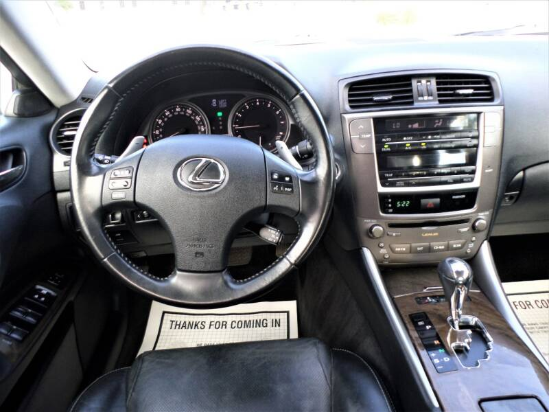 2010 Lexus IS 250 4dr Sedan 6A - Mckinney TX