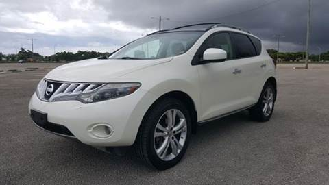 2009 Nissan Murano for sale at Truck Depot in Miami FL
