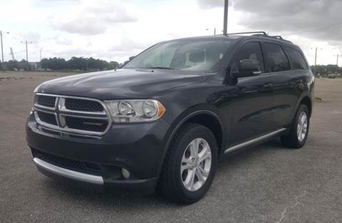 2012 Dodge Durango for sale at Truck Depot in Miami FL