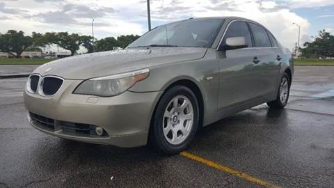 2004 BMW 5 Series for sale at Truck Depot in Miami FL
