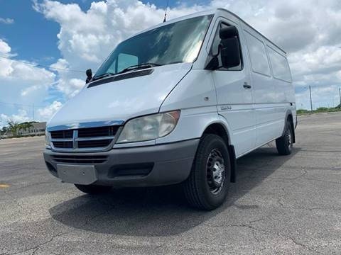 Sprinter Van For Sale >> 2006 Dodge Sprinter Cargo For Sale In Miami Fl