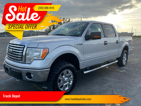 2012 Ford F-150 for sale at Truck Depot in Miami FL