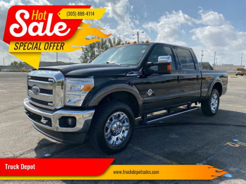 2016 Ford F-250 Super Duty for sale at Truck Depot in Miami FL
