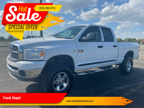 2007 Dodge Ram Pickup 2500 for sale at Truck Depot in Miami FL