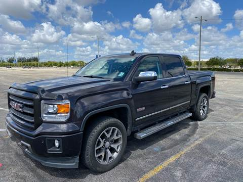 2015 GMC Sierra 1500 for sale at Truck Depot in Miami FL
