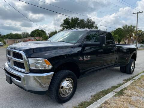 2018 RAM Ram Pickup 3500 for sale at Truck Depot in Miami FL