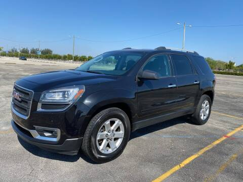 2014 GMC Acadia for sale at Truck Depot in Miami FL