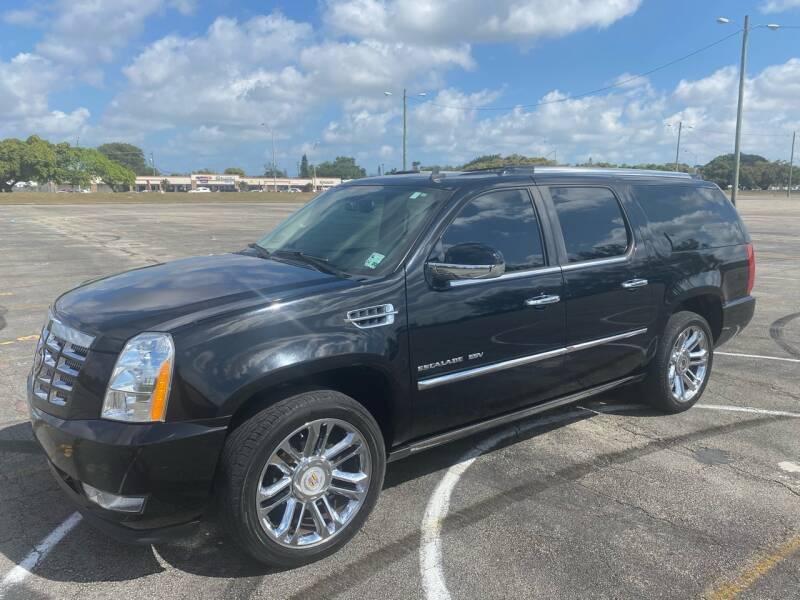 2010 Cadillac Escalade ESV for sale at Truck Depot 2 in Miami FL