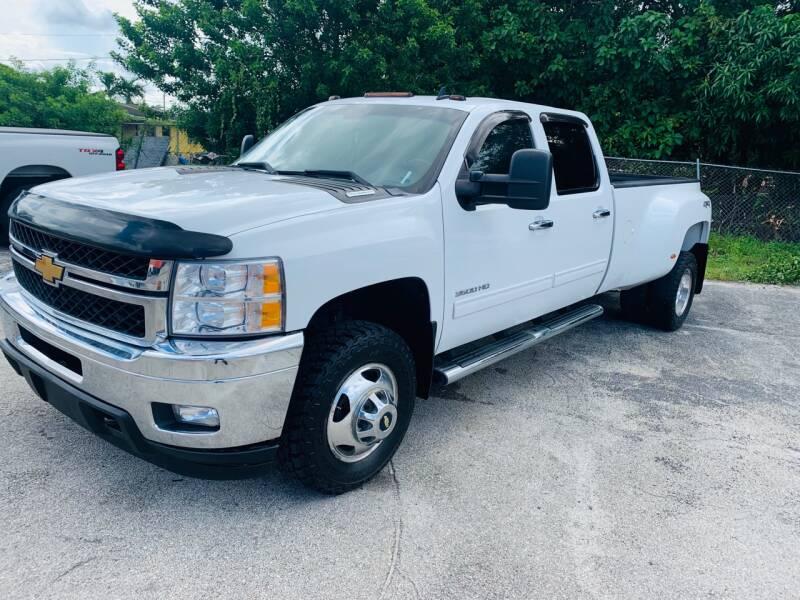 2013 Chevrolet Silverado 3500HD for sale at Truck Depot in Miami FL