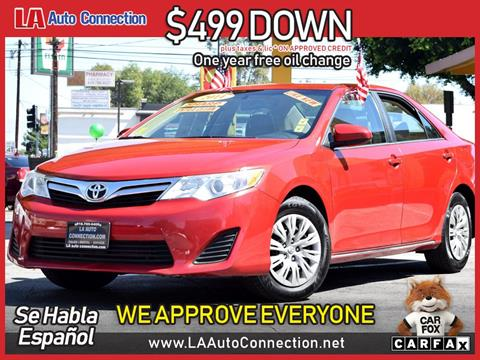 2014 Toyota Camry For Sale In Van Nuys, CA