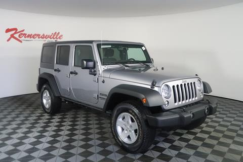 2017 Jeep Wrangler Unlimited for sale in Kernersville, NC