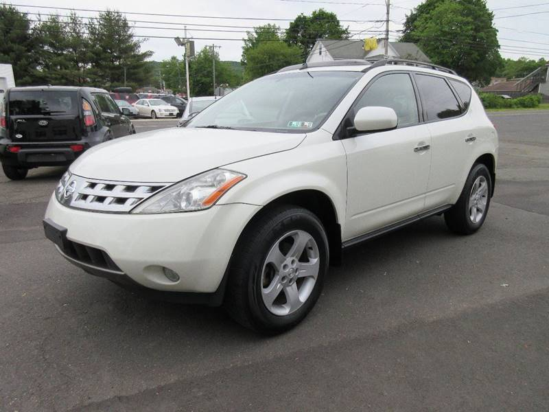 2005 Nissan Murano AWD SL 4dr SUV - Plainville CT