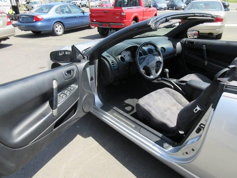 2001 Mitsubishi Eclipse Spyder GS 2dr Convertible - Plainville CT