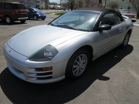 2001 Mitsubishi Eclipse Spyder for sale in Plainville, CT