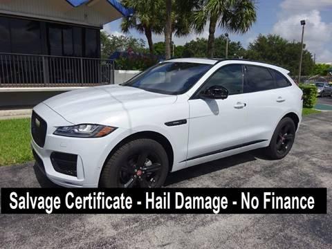 2017 Jaguar F-PACE for sale in Miami, FL