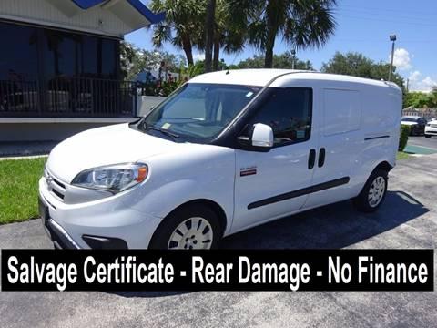 2015 RAM ProMaster City Cargo for sale in Miami, FL