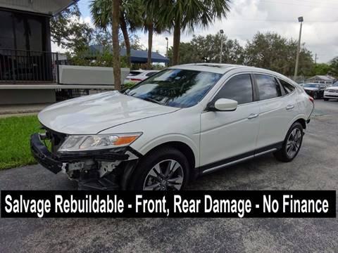 2015 Honda Crosstour for sale in Miami, FL