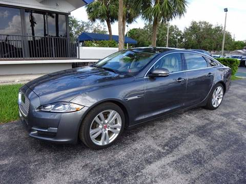 2016 Jaguar XJL for sale in Miami, FL