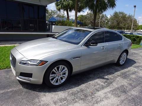 2017 Jaguar XF for sale in Miami, FL