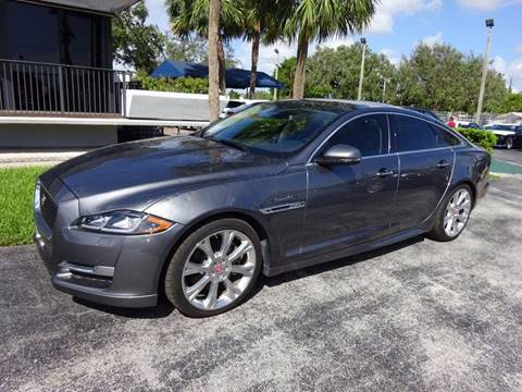 2016 Jaguar XJ for sale in Miami, FL