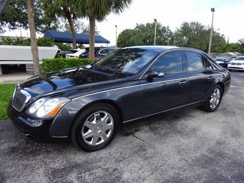 2004 Maybach 57 for sale in Miami, FL