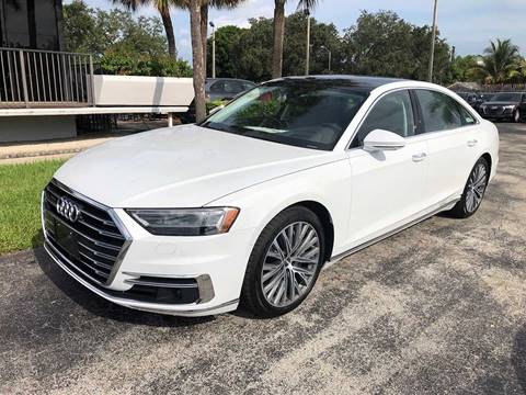 2019 Audi A8 L for sale in Miami, FL