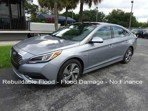 2016 Hyundai Sonata Hybrid for sale in Miami, FL