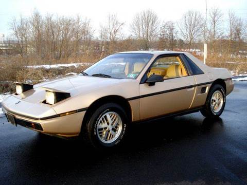 1986 Pontiac Fiero for sale at New Jersey Auto Wholesale Outlet in Union Beach NJ