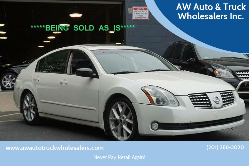 2004 Nissan Maxima For Sale At AW Auto U0026 Truck Wholesalers Inc. In  Hasbrouck Heights