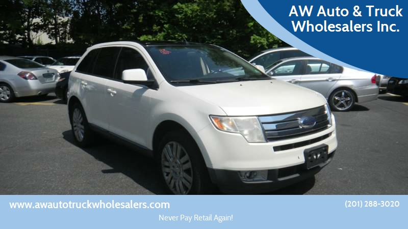 Ford Edge For Sale At Aw Auto Truck Wholesalers Inc In Hasbrouck Heights