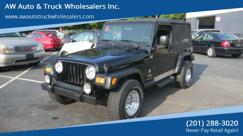 2006 Jeep Wrangler For Sale At AW Auto U0026 Truck Wholesalers Inc. In  Hasbrouck Heights