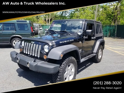 2007 Jeep Wrangler for sale in Hasbrouck Heights, NJ