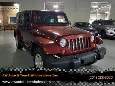 2008 Jeep Wrangler Unlimited for sale in Hasbrouck Heights, NJ