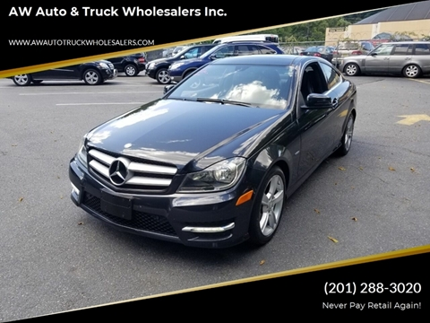 2012 Mercedes-Benz C-Class for sale in Hasbrouck Heights, NJ