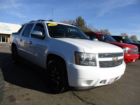 2011 chevrolet avalanche for sale in colorado. Black Bedroom Furniture Sets. Home Design Ideas
