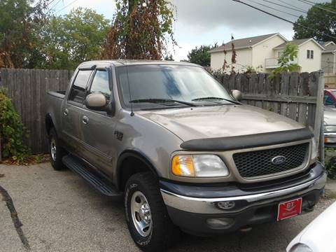 2001 Ford F-150 for sale at G T Motorsports in Racine WI
